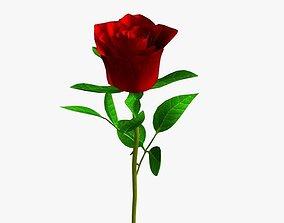 3D Realistic Rose