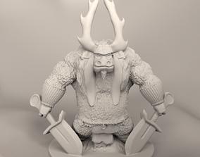 Kung fu Panda - Kai colector for 3d print