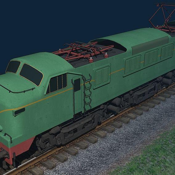 """""""Panchorga"""" 7800 locomotive"""