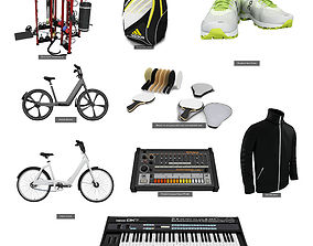 3D model Sport and Hobbies 9 in 1