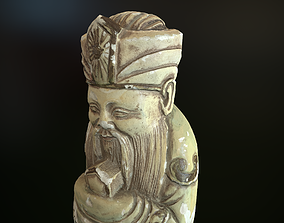 Props - Artwork - Chinese Statue 01 - 3D model