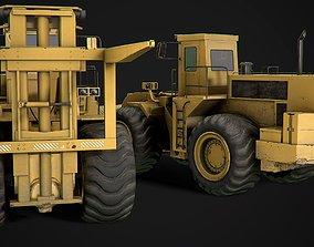 engineering transport 3D asset