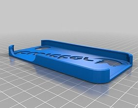 Iphone 5 Twitter logo with bird case 3D print model