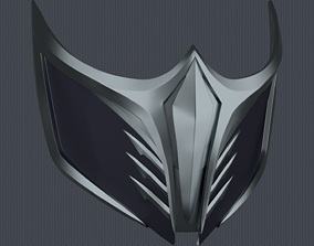 MK11 Aftermath Sub-Zero Mask - STL File 3D printable model