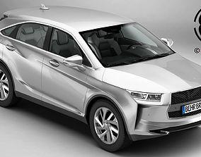 3D Generic SUV 2018