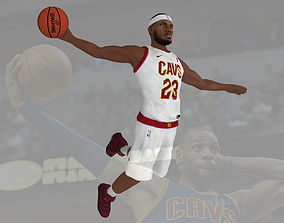 Lebron James ready for full color 3D printing