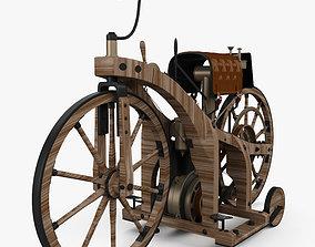 Daimler Reitwagen 1885 3D model