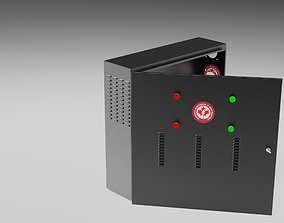 keyshot 3D model Electrical Box