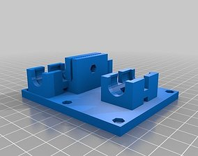 3D printable model Linear Bearing X Axis Carriage for Tom