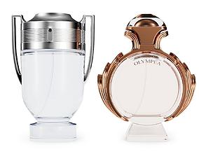 3D Paco Rabanne Aqua Perfume