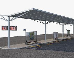 3D Bus Stop 1a