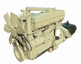 Diesel Engine 3D model