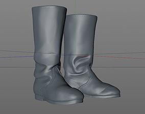 3D print model boots