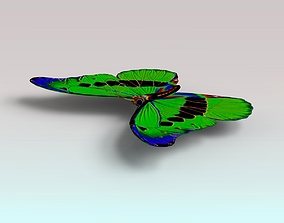 Butterfly 3D asset realtime