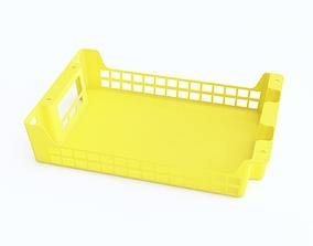 Plastic crate 19 3D model