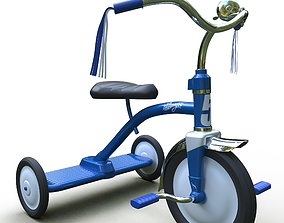 Tricycle Classic 3D model