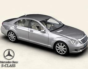 Mercedes S-Class 2006 3D