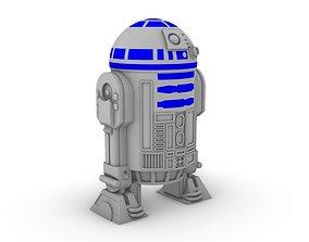 Droid R2-D2 3D printable model