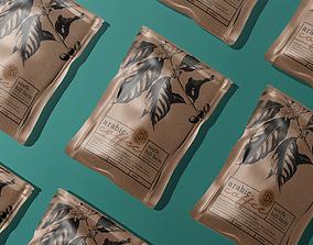 Mockup Coffee packaging 3D printable model