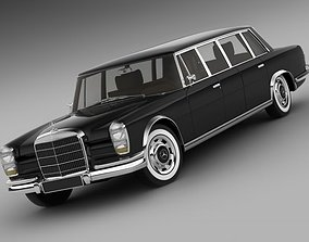 Mercedes 600 W100 Pullman 3D model