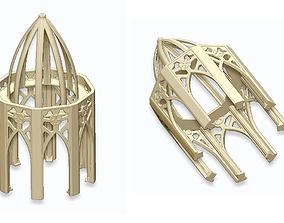 3D printable model GOTHIC ELEMENTS 2