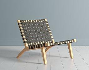 Hans Wegner Ashanti Chair 3D