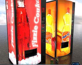 PBR Soda Vending Machines 3D model low-poly
