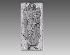 3D printable model Archangel Gabriel angel cnc ORTHODOX 1