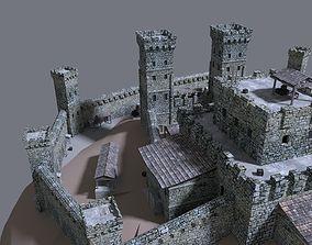 castle old-house 3D