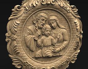 Holy Family 3D Model