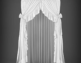 game-ready Curtain 3D model 270