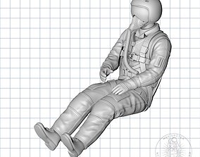 3D printable model RUSSIAN JET-PILOT