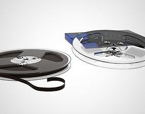 Maxell Reel Tape 3D model