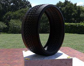ORTAS TIRE NO 43 GAME READY AND 3D PRINTABLE wheel