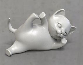cats Low-poly 3D print model