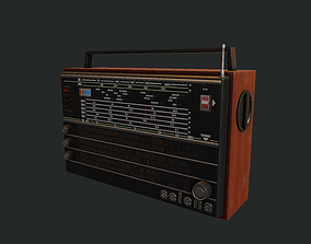 3D model Sovietic Radio