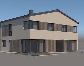 3D model Family House 002