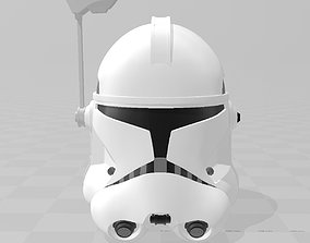 3D print model Star Wars Captain Rex Phase II Helmet