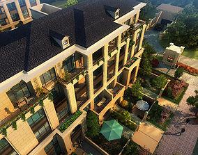 renderings Villa 3d model