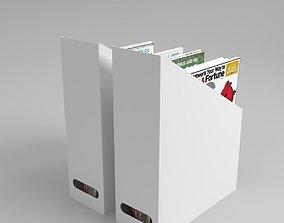 3D Ikea KVISSLE Magazine file set Blender