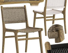 3D Globewest Noosa Open Dining Chair