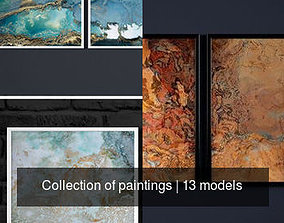 homedecor 3D model Collection of paintings