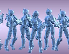 Tau Breach Babes 3D printable model