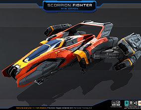 3D model SF - Scorpion Fighter