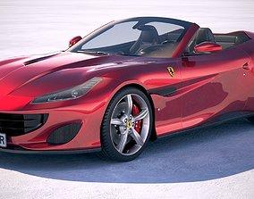Ferrari Portofino 2018 3D