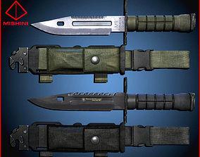 M9 Bayonet Knife Pack 3D