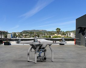 3D model DJI Phantom 3 Drone