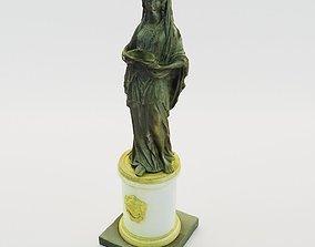 Classical sculpture of woman - France 3D printable model