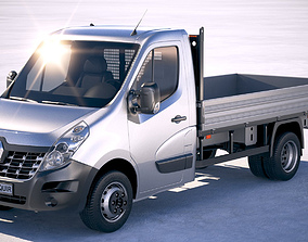 Renault Master Tipper 2018 3D model