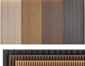 Wood panels set2 3D